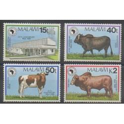 Malawi - 1989 - No 541/544 - Mammifères