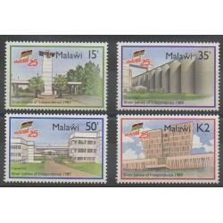 Malawi - 1989 - Nb 540A/540D - Various Historics Themes - Monuments