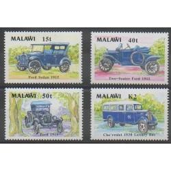 Malawi - 1990 - Nb 553/556 - Cars