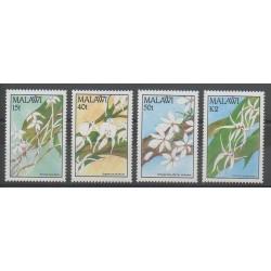 Malawi - 1990 - No 565/568 - Orchidées
