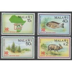 Malawi - 1990 - Nb 569/572