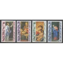 Malawi - 1992 - No 613/616 - Noël