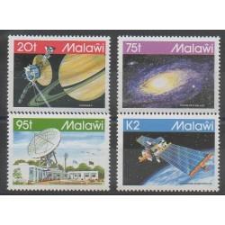 Malawi - 1992 - Nb 617/620 - Space