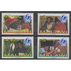 Malawi - 1997 - Nb 670/673 - Childhood