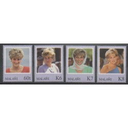 Malawi - 1998 - Nb 678/681 - Royalty