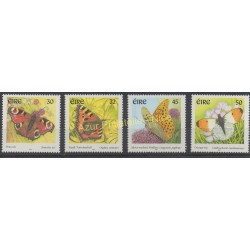 Irlande - 2000 - No 1279/1282 - Papillons