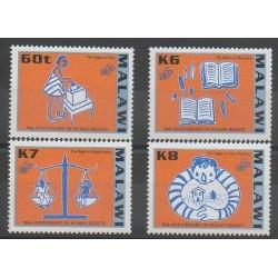 Malawi - 1998 - No 686/689 - Droits de l'Homme