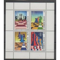 Yugoslavia - 1990 - Nb 2312/2315 - Chess