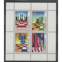 Yougoslavie - 1990 - No 2312/2315 - Échecs