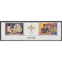 Tchad - 1996 - No 617 - 624 - Échecs - Scoutisme