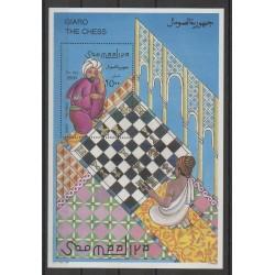 Somalie - 1996 - No BF37 - Échecs