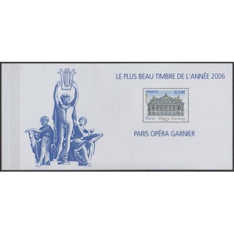France - Bloc souvenir - 2007 - No BS 24 - Musique