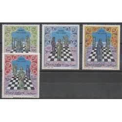 Somalie - 1996 - No 531/534 - Échecs