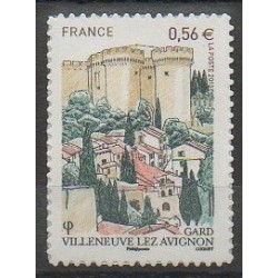 France - Self-adhesive - 2010 - Nb 416 - Castles