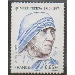 France - Autoadhésifs - 2010 - No 468 - Religion - Célébrités