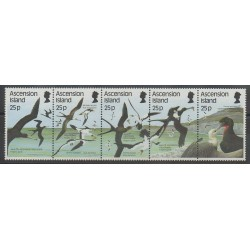 Ascension Island - 1987 - Nb 437/441 - Birds