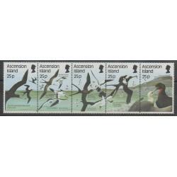 Ascension Island - 1987 - Nb 437/441 - Birds