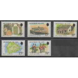 Ascension Island - 1988 - Nb 451/455