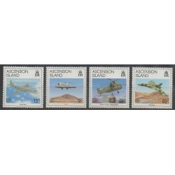 Ascension Island - 1992 - Nb 567/570 - Planes