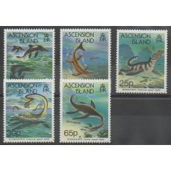 Ascension - 1994 - No 596/600 - Animaux préhistoriques