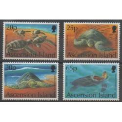 Ascension - 1994 - No 606/609 - Reptiles