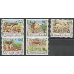 Ascension Island - 1994 - Nb 618/622 - Mamals