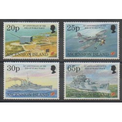Ascension Island - 1995 - Nb 632/635 - Second World War