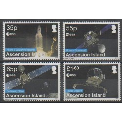 Ascension Island - 2014 - Nb 1131/1134 - Space