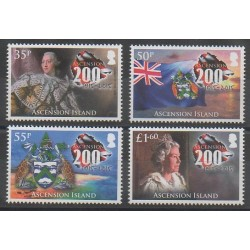 Ascension Island - 2015 - Nb 1149/1152 - Various Historics Themes