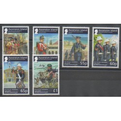 Ascension Island - 2014 - Nb 1125/1130 - Military history