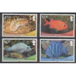 Ascension Island - 2013 - Nb 1101/1104 - Sea animals