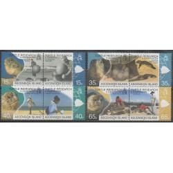 Ascension Island - 2009 - Nb 984/991 - Reptils