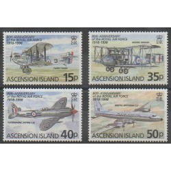 Ascension Island - 1998 - Nb 716/719 - Planes