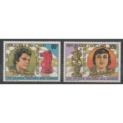 Tchad - 1983 - No PA268/PA269 - Échecs
