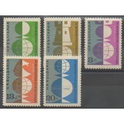Bulgarie - 1962 - No 1142/1146 - Échecs