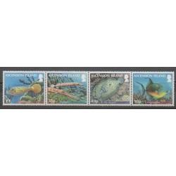Ascension Island - 2012 - Nb 1052/1055 - Sea animals