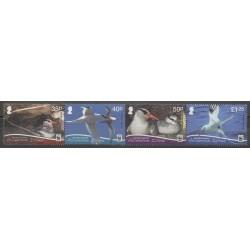 Ascension - 2011 - No 1041A/1041D - Oiseaux - Espèces menacées - WWF