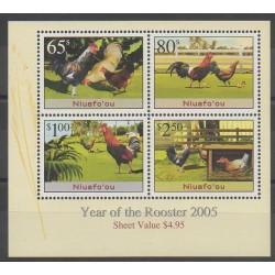 Niuafo'ou (Tonga) - 2005 - No BF40 - Oiseaux - Horoscope