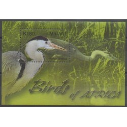 Malawi - 2003 - Nb BF81 - Birds