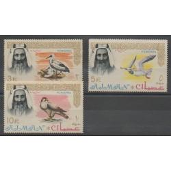 Emirats arabes unis - Ajman - 1964 - No 16/18 - Oiseaux