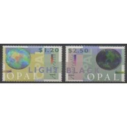 Australie - 1995 - No 1438/1439 - Minéraux - Pierres précieuses