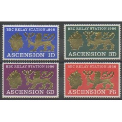 Ascension Island - 1966 - Nb 109/112