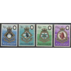 Ascension Island - 1972 - Nb 157/160 - Coats of arms