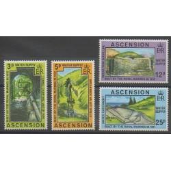 Ascension Island - 1977 - Nb 222/225