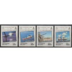 Ascension Island - 1984 - Nb 357/360 - Boats