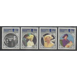 Ascension Island - 1985 - Nb 374/377 - Royalty