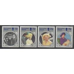 Ascension - 1985 - No 374/377 - Royauté - Principauté