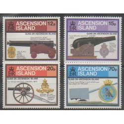 Ascension Island - 1985 - Nb 378/381