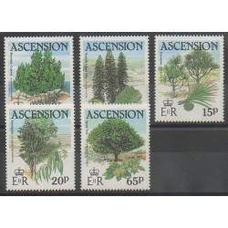 Ascension Island - 1985 - Nb 369/373 - Trees