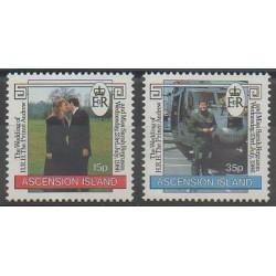 Ascension Island - 1986 - Nb 403/404 - Royalty